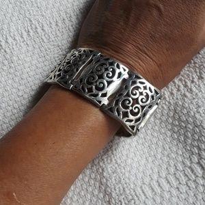 Brighton swirl panel bracelet